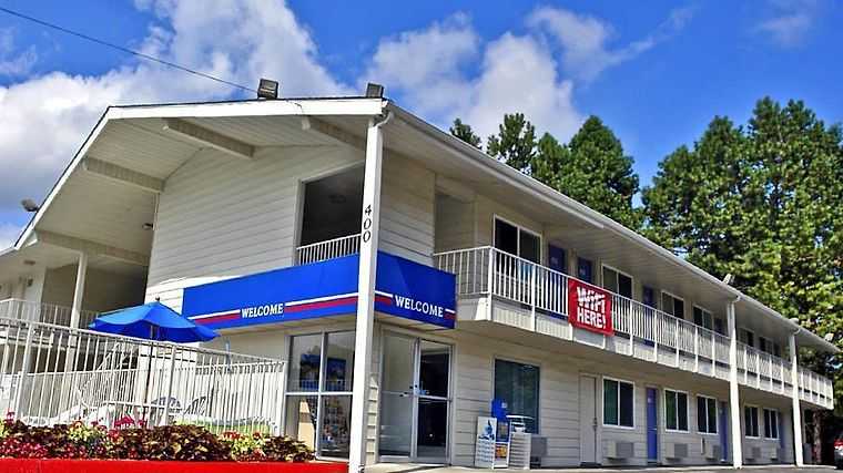 Motel 6 Tumwater - Olympia Exterior Exterior view