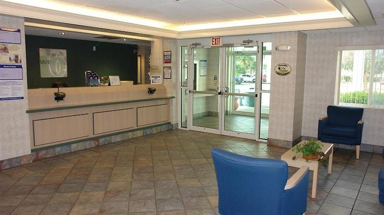 Motel 6 Brownsville Interior Lobby view