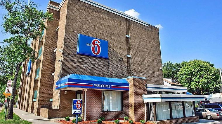 Motel 6 Washington Dc Exterior Exterior view