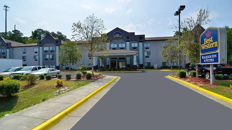 Best Western Raleigh Inn And Suites Exterior