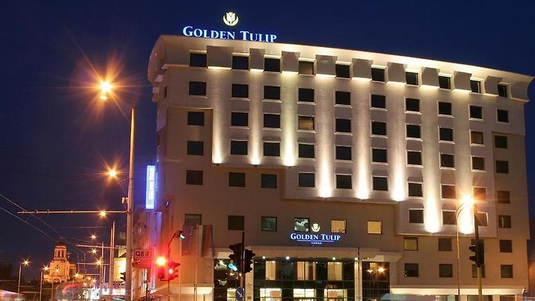 Golden Tulip Exterior Golden Tulip Varna by night