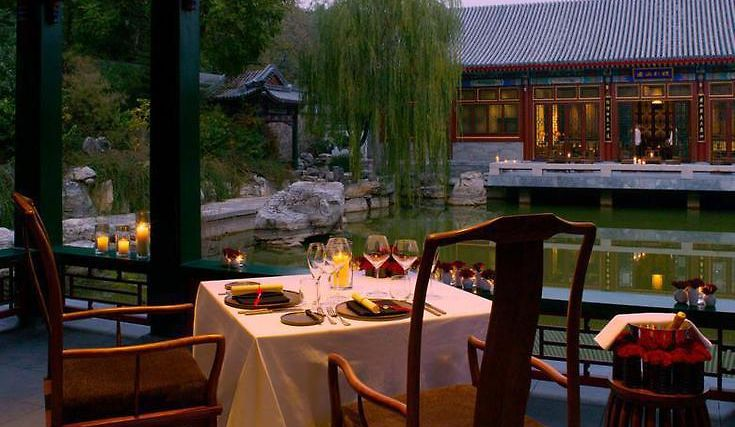 Aman At Summer Palace, Beijing Restaurant Private Dining at the Music Pavilion
