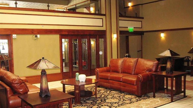 Historic Park Inn Interior Back Lobby