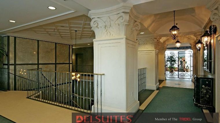 Delsuites Forest View Interior Lobby View