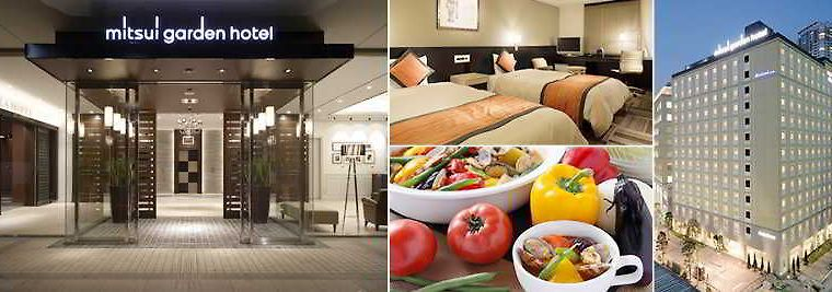 °MITSUI GARDEN HOTEL SHIODOME ITALIA GAI TOKYO 3* (Japan)   From US$ 163 |  BOOKED