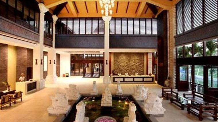 Haohanpo Gloria Hotspring Resort Nantian Interior