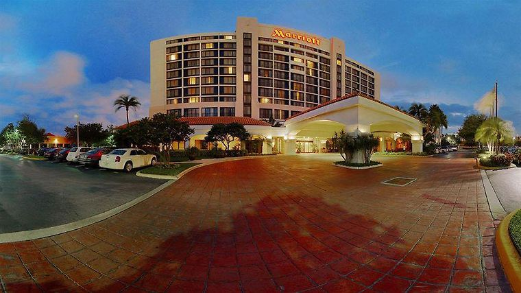 Palm Beach Gardens Marriott Exterior