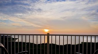 Hampton Inn & Suites Ocean City/Bayfront-Convention Center photos Amenities Balcony View of Sunset