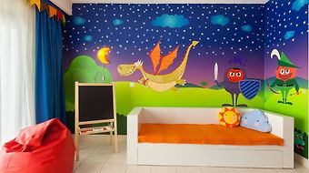 Gran Castillo Tagoro Family & Fun Playa Blanca photos Room Merlin Kid`s Room