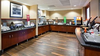 Hampton Inn & Suites Lino Lakes photos Restaurant Breakfast Area