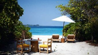 Six Senses Laamu photos Restaurant Beach View